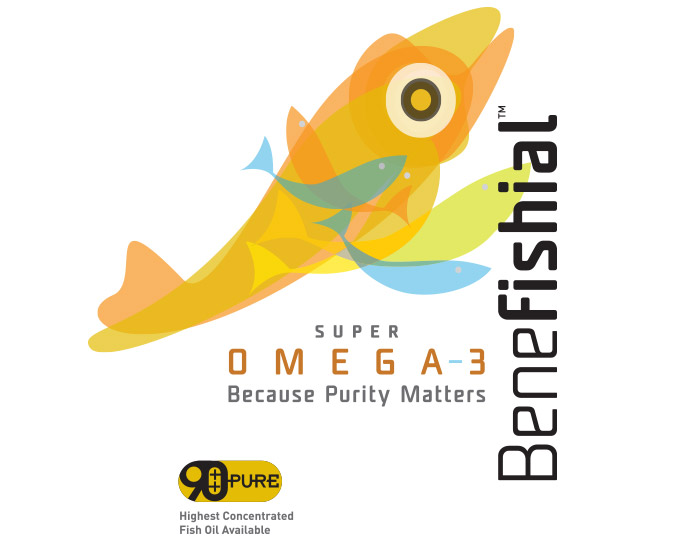 Benefishial Fish Oil Branding