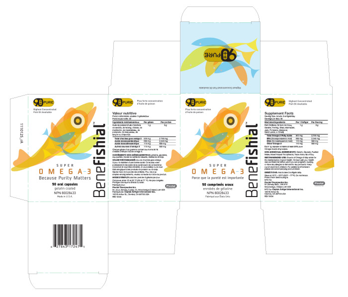 Benefishial Fish Oil Branding Box